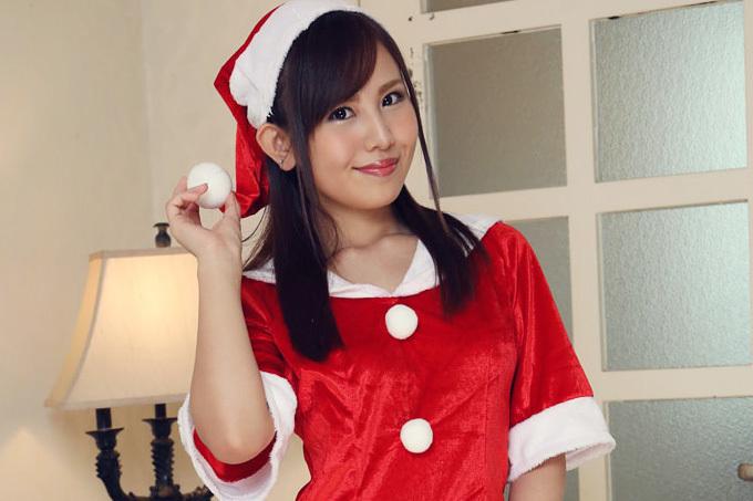 碧えみ クリスマスにはサンタに中出し。