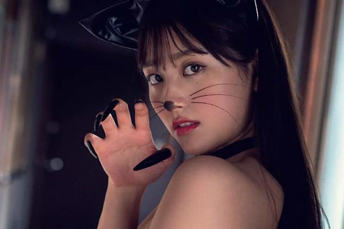 大和田南那 拾いたい可愛すぎるネコ…妄想グラビア。