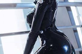 キャットスーツ・ラバースーツ・レザースーツのエロ画像 part3