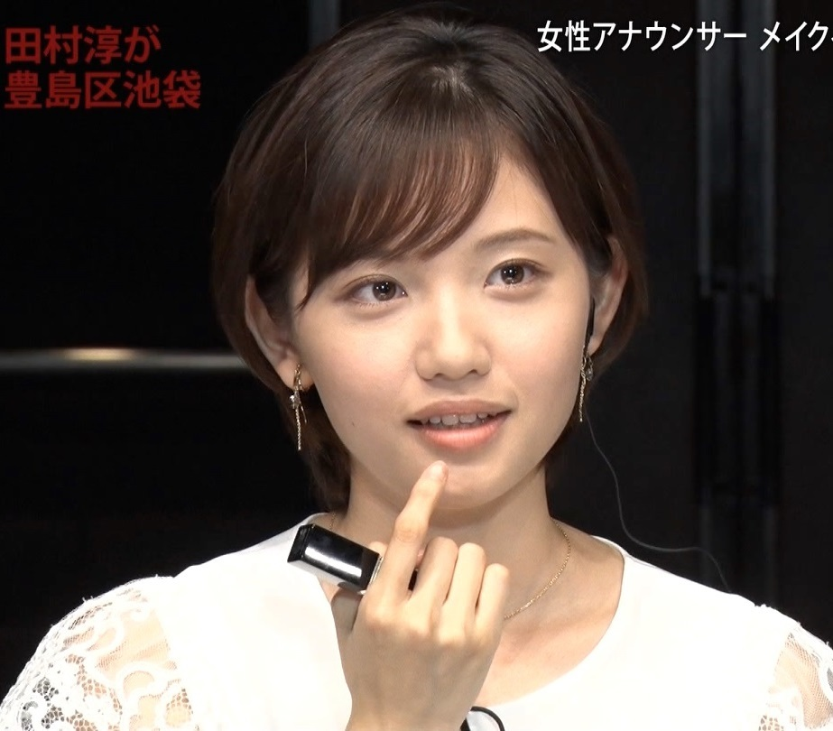 田中瞳アナの顔見て発射4