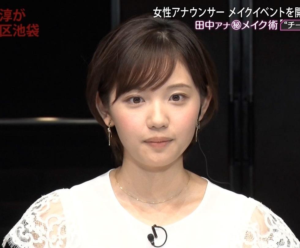 田中瞳アナの顔見て発射6