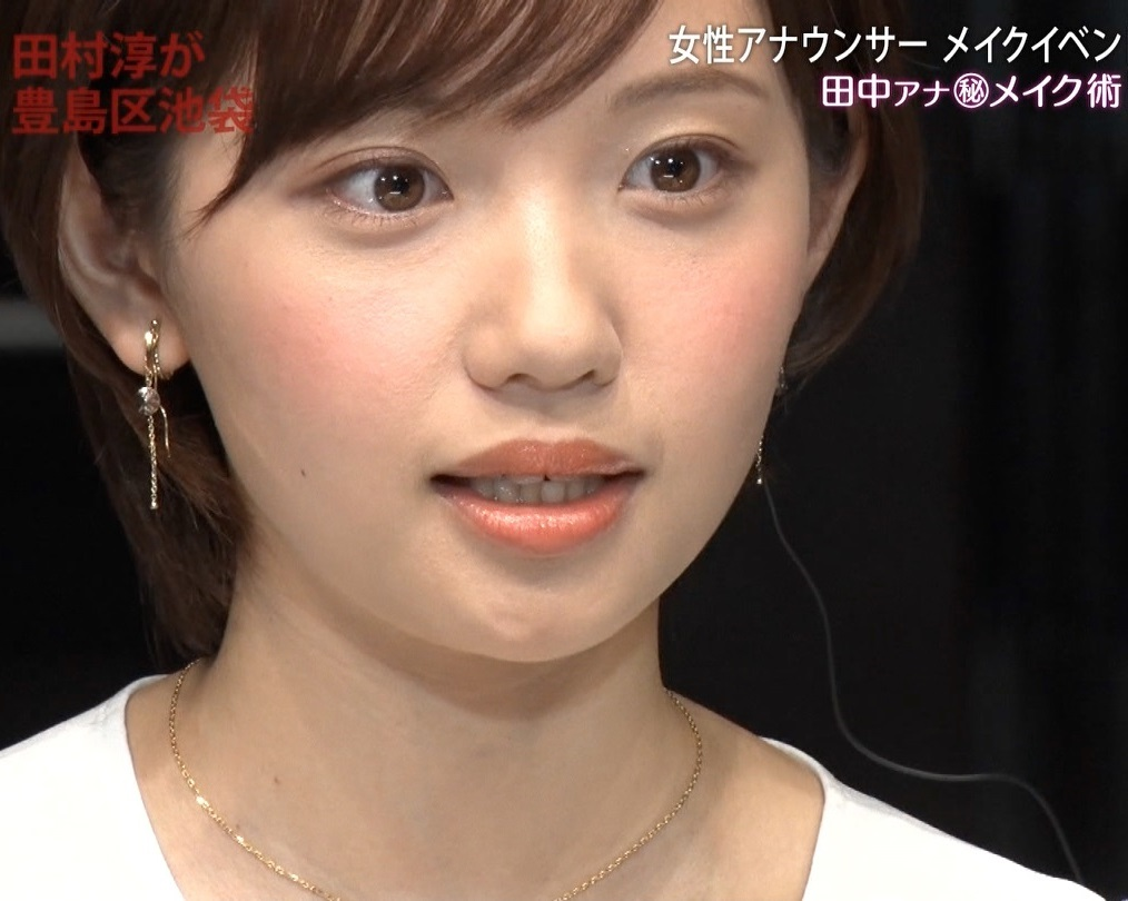 田中瞳アナの顔見て発射13