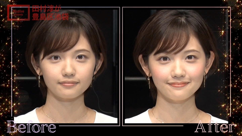 田中瞳アナの顔見て発射14