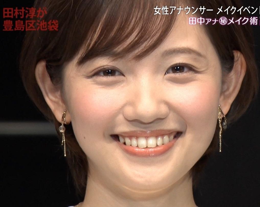 田中瞳アナの顔見て発射15