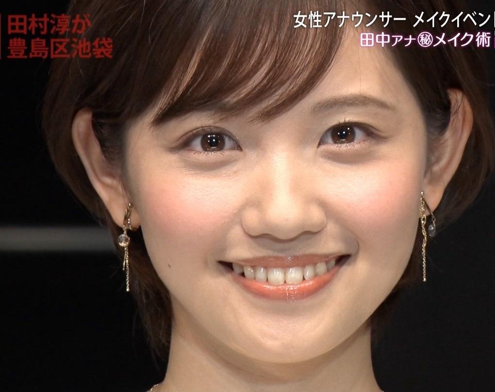 田中瞳アナの顔見て発射16