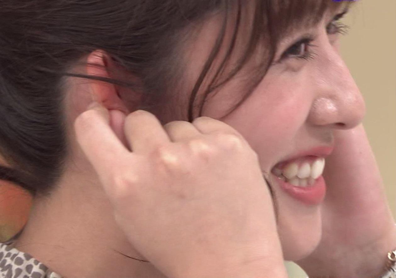 テレ朝・斎藤ちはるアナの横顔2