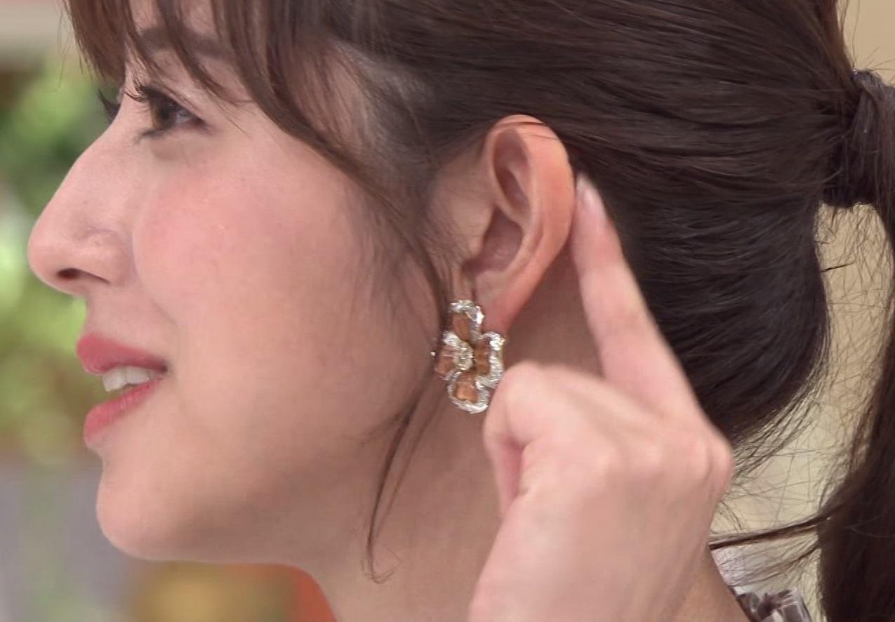 テレ朝・斎藤ちはるアナの横顔3