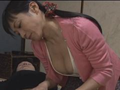 北原夏美 未亡人の巨乳母が出家したいという息子にオンナの良さを自身のカラダで教える