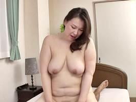 中村富士子|五十路|娘の亭主を魅了する巨漢の爆尻マダム