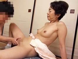 【五十路】若い生徒を筆下ろす書道家の熟女先生。藍川京子