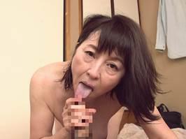 【六十路】夫より丁寧なSEXをする息子にメロメロになった還暦母。杉本秀美