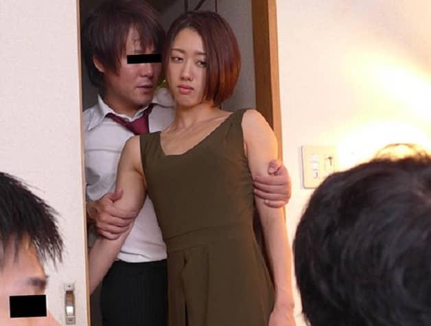 【人妻NTR】夫の上司に寝取られ完堕ちするまで中出し調教され「あなたの子供が欲しい」と種付け懇願する不倫妻《竹内有紀》