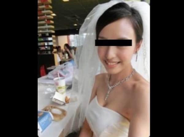 【素人流出】幸せな結婚式の写真から夜の生活まで…新婚夫婦のプライベートが全て流出!