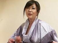 ダイスキ!人妻熟女動画 :スパンキングしてアナル舐めする四十路の女将の変態セックス! 円城ひとみ