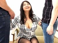 エログちゃんねる:40歳の巨乳シロガネーゼ人妻が欲求不満になってAV応募で男を食べ放題!