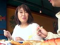 ダイスキ!人妻熟女動画 :出会い系で知り合った五十路妻をハメ撮り旅行に連れて行く 赤城沙代