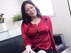 ダイスキ!人妻熟女動画 :四十路の120cm爆乳ド痴女女社長が社員や取引先のチ○ポを食い散らかす! 八木あずさ