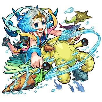 海の主宰神 ワタツミ