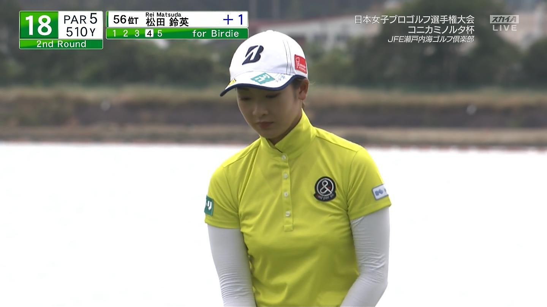 ゴルフのエロおっぱい画像
