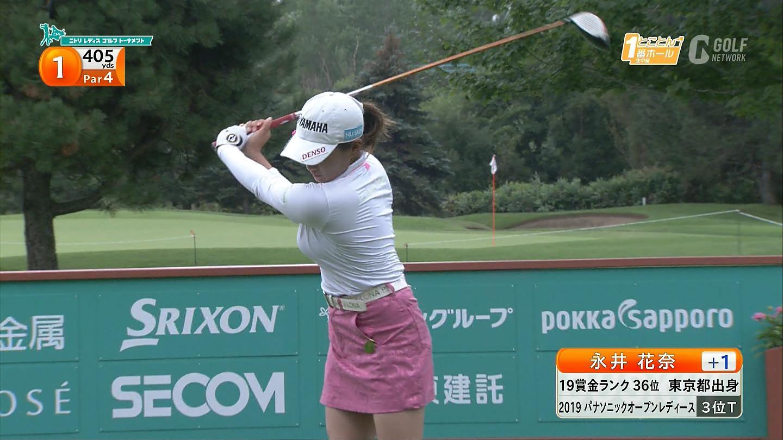 ゴルフのパンチラ画像