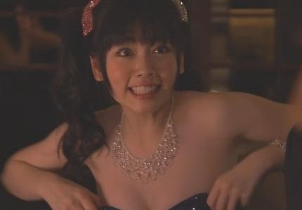 【エロ画像】小芝風花でキャバ嬢でおっぱい丸出し?乳揺れすごwww