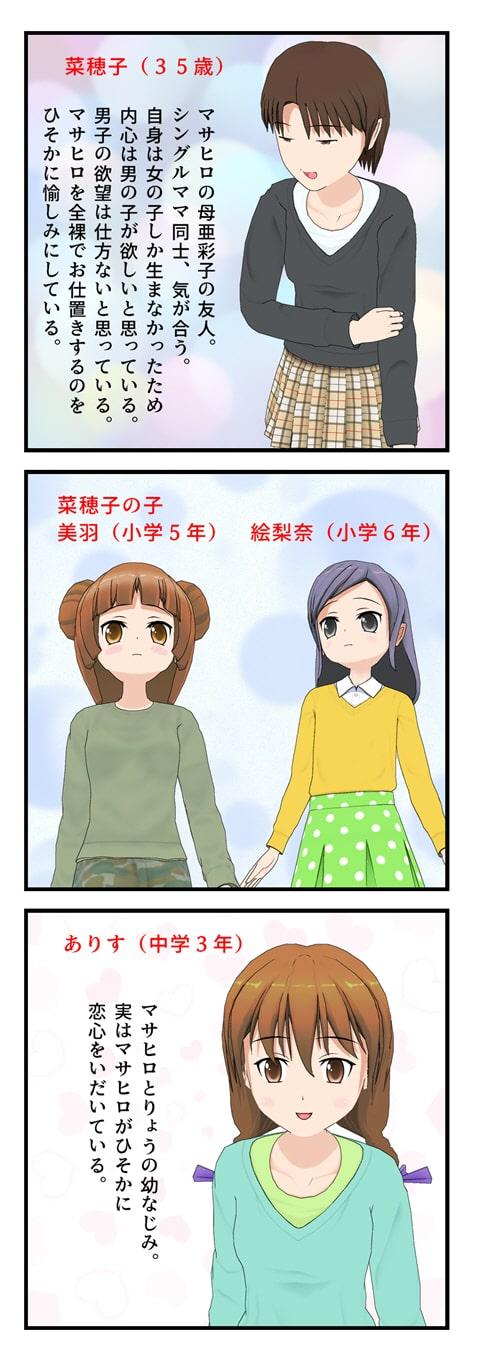 こみぽでCFNM