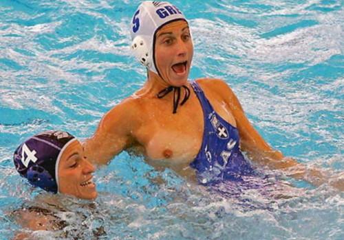 アスリート女性のハプニング乳首が見えた瞬間wwwwwwwwwwwwwwww(画像あり)