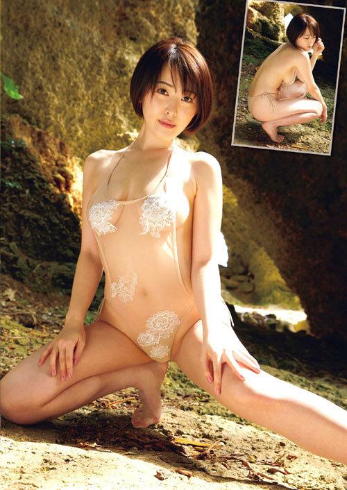 忍野さら(25) 白くて柔らかいエロ乳画像
