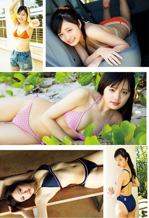 安藤咲桜オタク巨乳美少女のおっぱいの谷間5