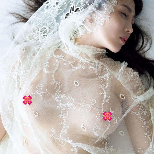 森咲智美 Gカップ美巨乳おっぱいを露出し過ぎてついに乳首完全公開か?!