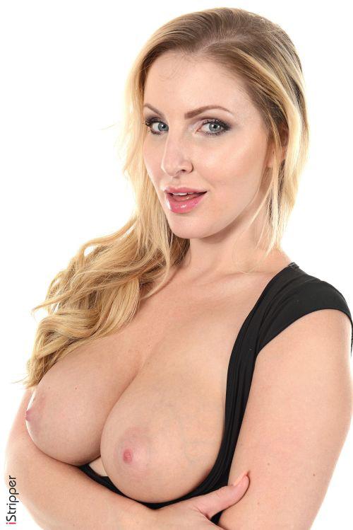 お顔もお胸もド派手・大迫力!爆乳爆ケツの金髪美熟女さん、透け透けパンティのパンチラもえっちなヌード&エロダンスww # 外人エロ画像