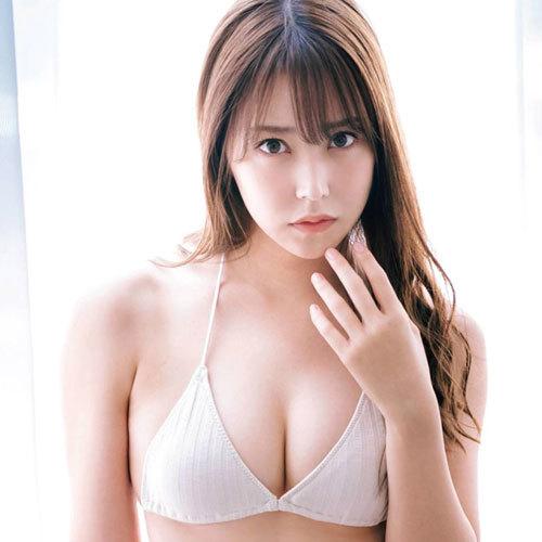 NMB48白間美瑠 美巨乳おっぱいにスレンダーなスケベボディを見せつける