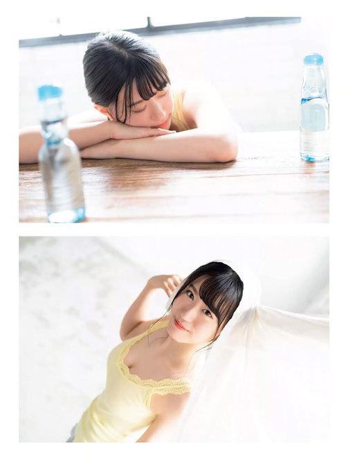 NNMB48上西怜のおっぱいハミ出そうな巨乳水着13