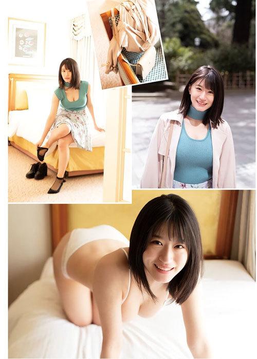 NNMB48上西怜のおっぱいハミ出そうな巨乳水着20