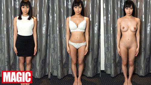 着衣、脱衣、全裸、比較鑑賞!美乳も桃尻も陰毛もカメラの前で一糸纏わぬ姿を晒す美女達の恥ずかしいポーズを徹底視姦