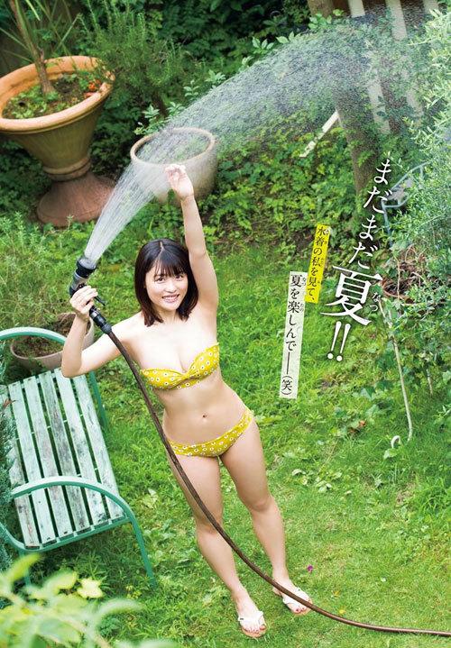 石田桃香 浪速のピーチ姫のおっぱいに釘付け47
