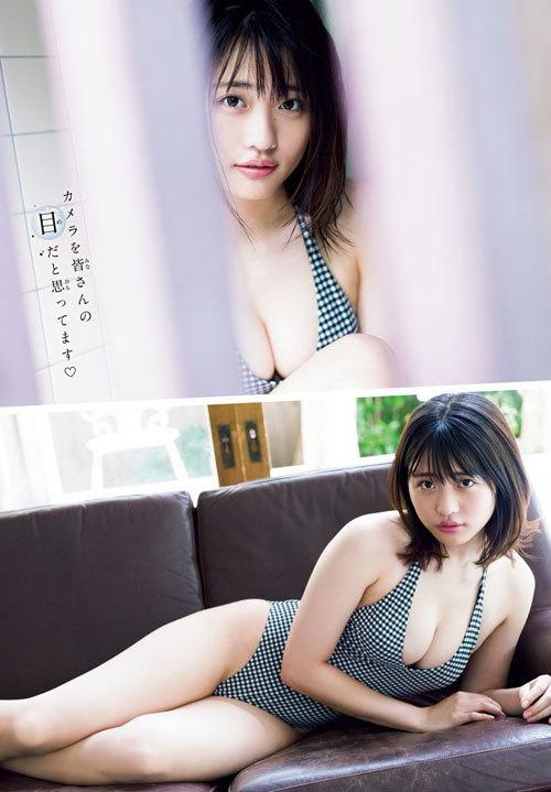 石田桃香 浪速のピーチ姫のおっぱいに釘付け49