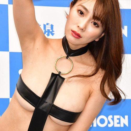 森咲智美 Gカップ美巨乳おっぱいの日本一エロすぎるグラドルがさらに過激