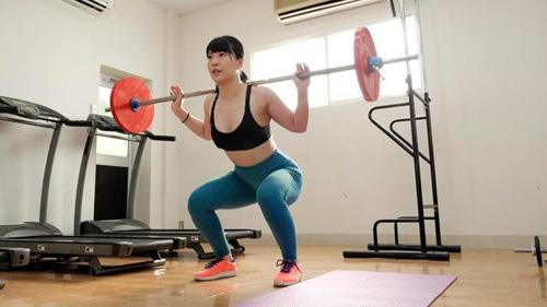 筋肉系AV女優「ちゃんよた」のトレーニング姿がえちえちすぎる!