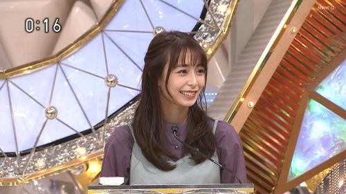 宇垣美里「仕事が無くなったから、こんな格好をしてやるよ…」
