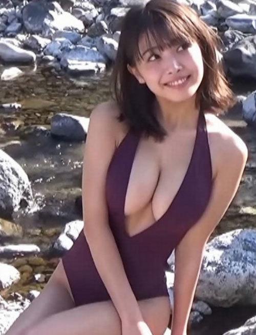 寺本莉緒(19)のお乳が破裂しそう part7