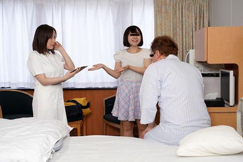 宿泊ドックの数日間に看護師をする彼女の親友とセックスしまくったVOL.3 田中ねね1