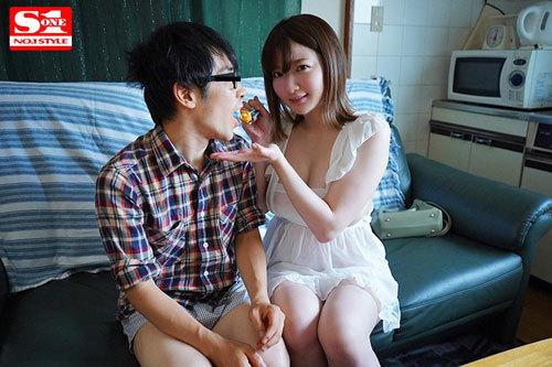 Jカップ女優'鷲尾めい'を絶倫素人宅に派遣して神乳パイズリで射精しまくりスペシャル2