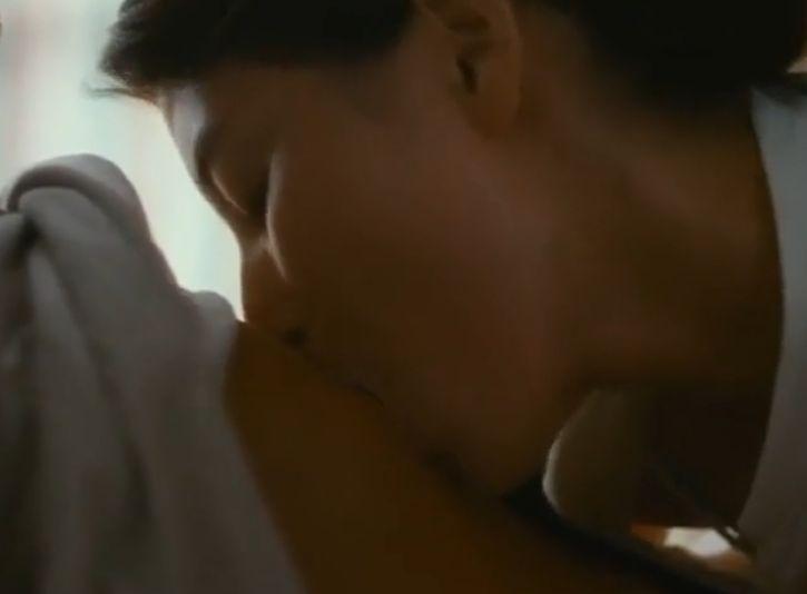 【橋本マナミ】若い男性の身体に貪りついた濡れ場