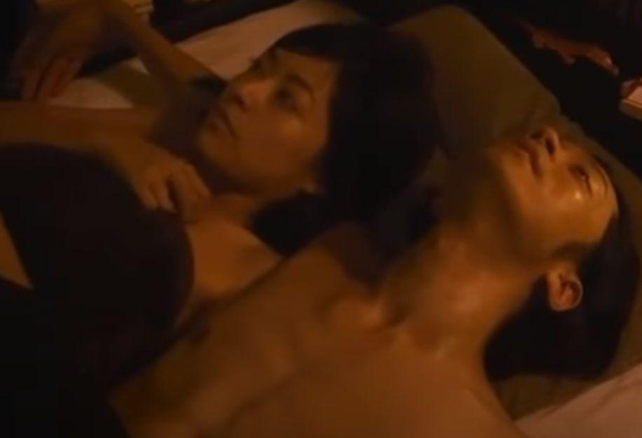 【井上真央】汗ばむ肌が艶めかしくも淫らな濡れ場