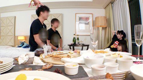 日本最大級のEDMフェスでナンパしたJD2人組!イベントサークル同士の交流と称しホテルに連れ込み酒を飲ませてフニャフニャにさせたら、秘密の4Pフェス開催♪ - ひかる 20歳 大学生/るい 20歳 大学生 05