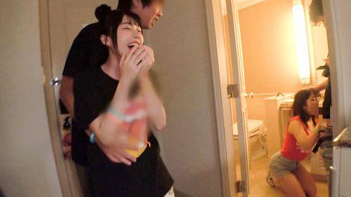 日本最大級のEDMフェスでナンパしたJD2人組!イベントサークル同士の交流と称しホテルに連れ込み酒を飲ませてフニャフニャにさせたら、秘密の4Pフェス開催♪ - ひかる 20歳 大学生/るい 20歳 大学生 09