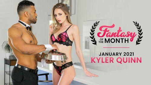 Kyler Quinn - JANUARY 2021 FANTASY OF THE MONTH