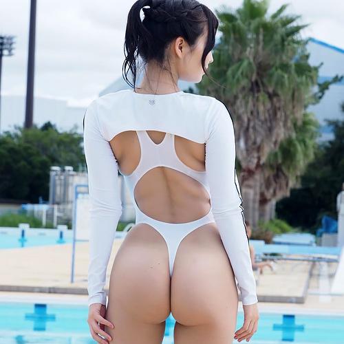 着たままハメたいヌク水・競泳水着のエロ画像 part81