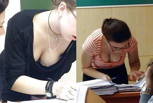 【ガチ女教師】クッソエ□い学校の先生が撮影される。。